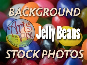 Photograph - Jelly Beans - candy