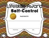 Jubilee's Junction - Lifeskills Character Trait Awards Cer
