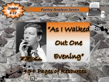 As I Walked Out One Evening by W.H. Auden Poem Analysis
