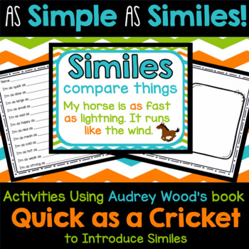 As Simple As Similes - Introducing Similes with Quick as a