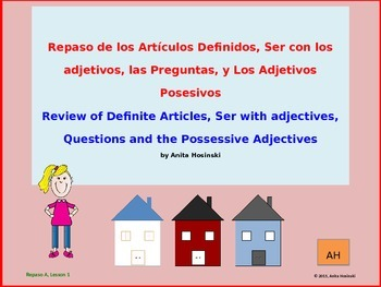 Asi se Dice 2nd year Spanish Repaso Lessons & Exams Bundle