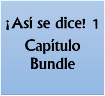 Así se dice 1 Capítulo 1 Bundle