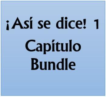 Así se dice 1 Capítulo 4 Bundle
