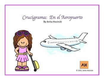 Asi se dice Ch 1-1 Crossword Puzzle:  El Aeropuerto
