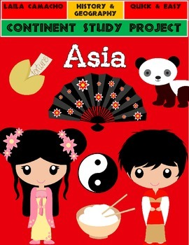 Asia: Continent Project