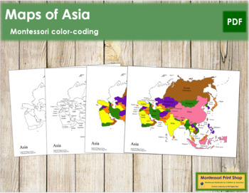 Asia Control Maps and Masters