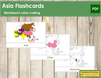 Asia Flash Cards