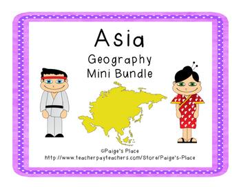 Asia Geography Mini Bundle
