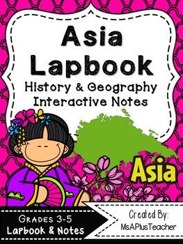 Asia Lapbook & Interactive Notes