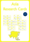 Asia Research Cards