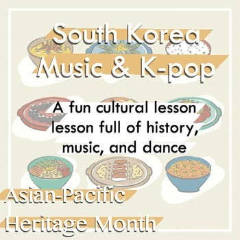 Asian-Pacific Heritage Month - I LOVE K-POP