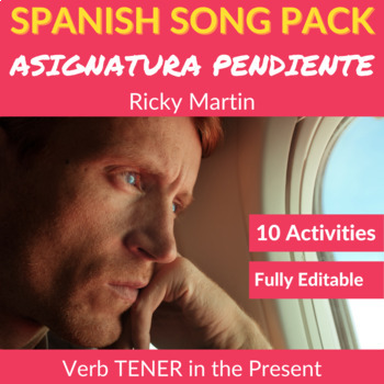 Asignatura Pendiente by Ricky Martin: Song to Practice TEN