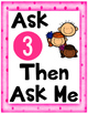 Ask 3 Then Ask Me FREEBIE