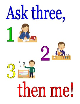 Ask 3 Then Me