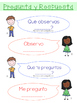 Ask & Answer Questions Poster (English AND Spanish)