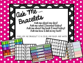 Ask Me Bracelets