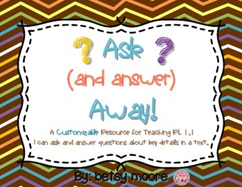 Ask (and Answer) Away! Resources for Asking and Answering