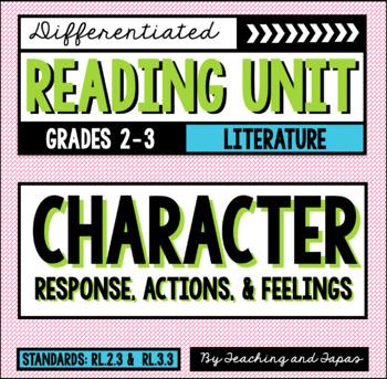 Characters (RL.2.3 and RL.3.3)