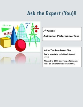 Ask the Expert (You)! (aligned to Smarter Balanced specifi