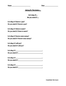 Asking Permission