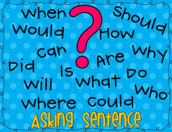 Asking Questions Anchor Chart FREEBIE! by Polka Dotted Pencils