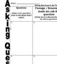Asking Questions Handout: Build Reading Comprehension