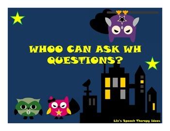 Asking Questions Superhero Owls