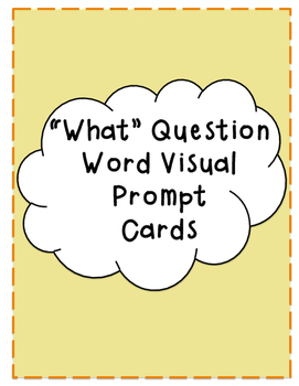 "Asking and Answering ""What"" Questions: Visual Prompt Boards"