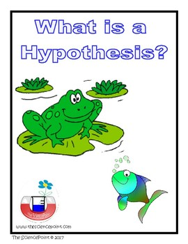 Aspect of Nature of Science - What is a Hypothesis?
