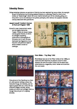 Assemblage Identity Boxes Worksheet