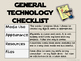 Assess Your 'Techno-Self' Technology Checklists for Studen