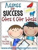 Assess for Success {Colors & Color Words}
