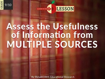 Assess the Usefulness of Information from Multiple Sources