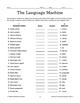 Assessing Language - Gr 4