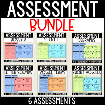 Assessment BUNDLE