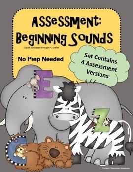 Assessment: Beginning Sounds