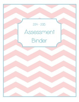 Assessment Binder Cover