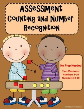 Assessment: Counting and Number Recognition