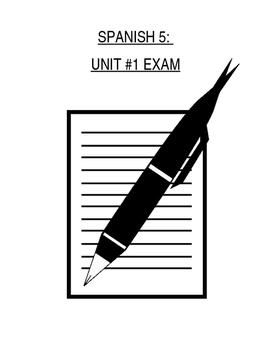 Assessment - Spanish 5 Exam 1: ¿Quién soy?