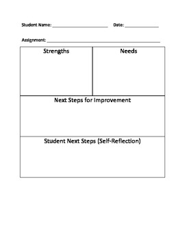 Assessment - Student Feedback Form