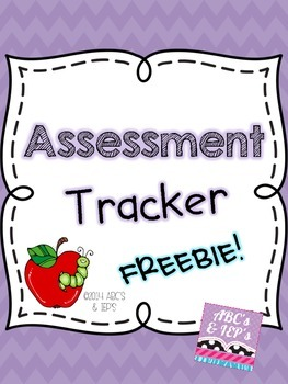 Assessment Tracker FREEBIE