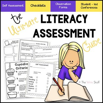 ASSESSMENT: Ultimate Literacy Assessment Binder
