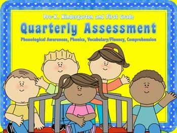 Assessment for the Phonological Awareness, Phonics, Vocabu