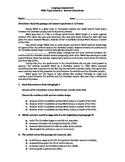 Assessment over Topic Sentence