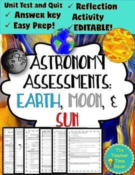 Astronomy Unit Assessments