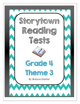 Storytown Assessments to accompany a textbook series Grade