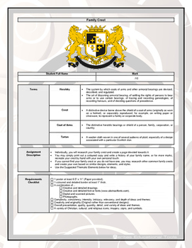 Assignment - Family Crest