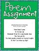 Assignment Menus - Non-Fiction