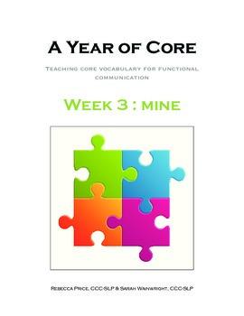 Word of the Week 3: Mine - BOARDMAKER - assistive technolo