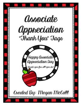 Associate Appreciation Tags